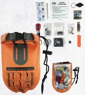 BCB Waterproof survival kit