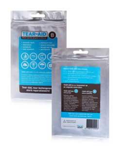 Tear-Aid lagningslappar