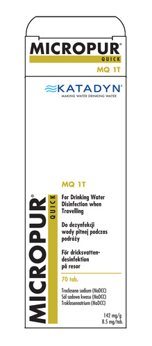 Vattenreningstabletter Micropur Quick