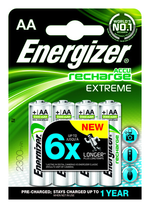 Energizer Accu Recharge AA