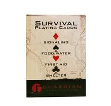 Spelkort tema överlevnad