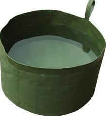 Hopfällbar vattenskål