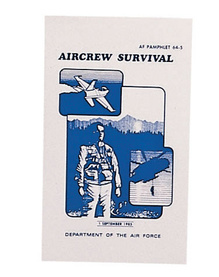 Överlevnadsmanual, US Air Force