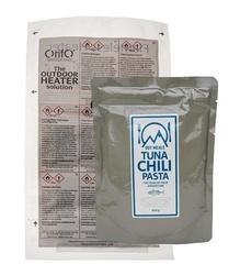 Självvärmande tonfiskpasta med chili