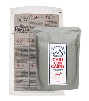 Självvärmande chili con carne
