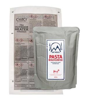 Självvärmande pasta bolognese