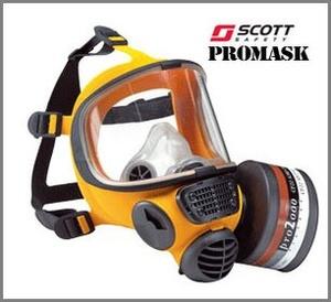 Gasmask Scott Promask Silikon